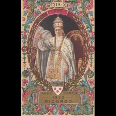 Vatikan: 1939: Ansichtskarte