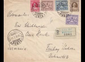 1931: Einschreiben nach Freiburg