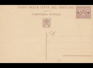 Vatikan: Ganzsache - Poste Vatican