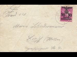 GG: Brief von Krakau nach Lorsch