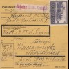 GG Inlandspaketkarte Jaslo, Wertpaket nach Mogielnica