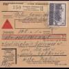 GG: Inlandspaketkarte Skarzysko-Kamienna, Nachnahme - Michow-Letkowice, MiF