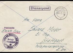 GG: Postschutz: Krakau beim Leiter der DPO nach Stuttgart