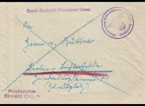 GG: Postschutz Einsatz Osten Chabowka nach Berlin
