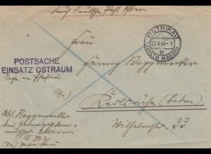 GG: Postschutz Einsatz Ostraum Petrikau nach Karlsruhe
