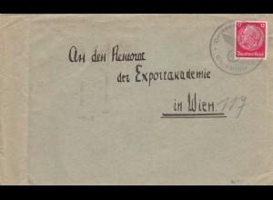 GG frühe Post: Chrzanow nach Wien