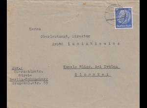 GG frühe Post: 18.11.39, Chrzanow in die Slowakei, portogerecht