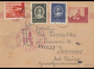 GG Kroatien: Dubrovnik nach Warschau, Zensur