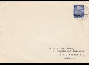 GG Schweiz früher Brief Warschau, 11.12.39 nach Lausanne, Zensur