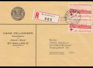 Einschreiben St. Gallen nach Alststätten