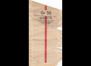 GG Generalgouvernement 1941 Banderole für 1 Zloty mit 50 Münzen a 1 Gr.