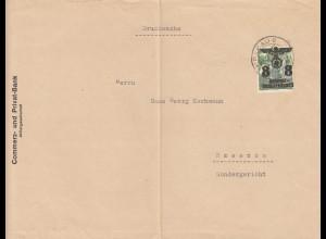 GG Drucksache Brief der Commerzbank Krakau, portogerecht nach Rzeszow