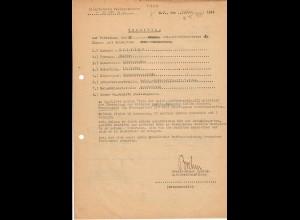 Vorschlag KVK 2. Kl., Bandenkampf, Malkow-Zablocie, 02.44, SS Reiterabteilung, Cholm, FP 16107D