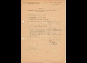 Vorschlag KVK 2. Kl., Bandenkampf, Malkow-Hrubieszow, 02.44, SS Reiterabteilung, Cholm