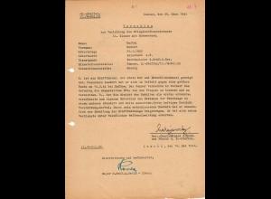 Vorschlag KVK 2. Kl., Bandenkampf, Malkow, 02.44, SS Reiterabteilung, Zamosc, Kraftfahrer