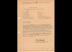 Vorschlag Eisernes Kreuz 2. Kl., Bandenkampf, Fajslawice-Lopienik, 03.44, SS-Pol.Reiterschwadron