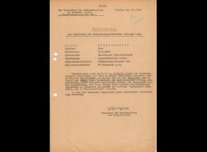 Vorschlag KVK 2. Kl., Bandenkampf, Hamernia 7.43, Nachrichten Kompanie 309