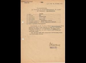 Vorschlag KVK 2. Kl., Bandenkampf, Cholm, Boncza 11.43, FPNr. 16107B