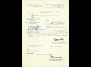 Vorschlag KVK 2. Kl., Bandenkampf, Kolonie Ameryka 3.44, FPNr. 16107C, Cholm, SS. Pol