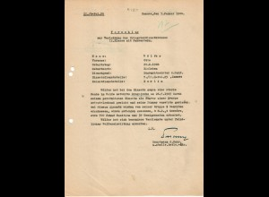 Vorschlag KVK 2. Kl., Bandenkampf, Drogojowka 7.43, Zamosc, SS. Pol. 25