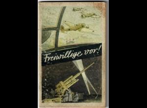 Buch: Freiwillige 1942 vom OKW, Werbebuch mit Bildern der Luftwaffe