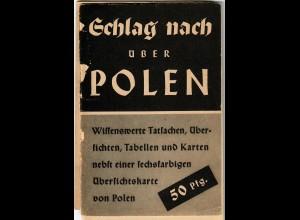 Schlag nach über Polen, Informationen über Polnischen Staat vor 1939