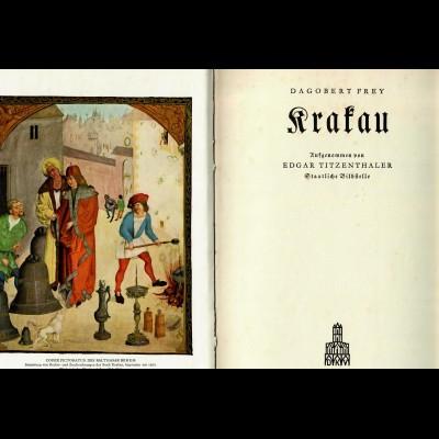 Buch Krakau von Dagobert Frey, Generalgouvernement - GG