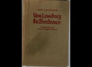 Von Lemberg bis Bordeaux, Fronterlebnisse Kriegsberichterstatter, 1941