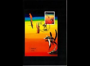Maximumkarte FDC Rainbow von Soshana