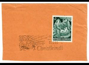 Briefausschnitt Christkindl 1963