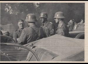 AK: Kriegs-WHW 1939/40, SD-Einsatzkommando, Tag der deutschen Polizei, Wien