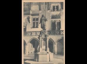 GG: AK Krakau, Institut für Deutsche Ostarbeit, Kopernikusdenkmal nach Erfurt