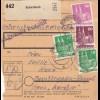 BiZone Paketkarte 1948: Schwabach nach Berchtesgaden