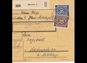 BiZone Paketkarte: München nach Schönau b. Aibling