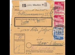 BiZone Paketkarte 1948: München nach Haar