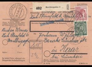 BiZone Paketkarte 1948: Berchtesgaden nach Haar