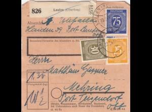 BiZone Paketkarte 1948: Laufen nach Mehring