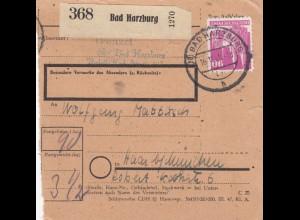 BiZone Paketkarte 1948: Bad Harzburg nach Haar bei München