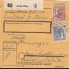 BiZone Paketkarte 1948: Ruhpolding nach Haar bei München