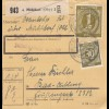 BiZone Paketkarte 1946: Mühldorf nach Bad Aibling