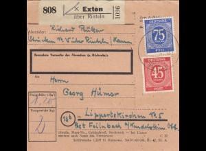 BiZone Paketkarte: Exten über Rinteln nach Lippertskirchen
