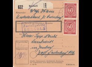 BiZone Paketkarte 1948: Birnbach nach Feilnbach