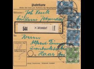 BiZone Paketkarte: Jetzendorf nach Haar