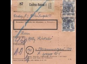 BiZone Paketkarte: Castrop-Rauxel nach Oberammergau