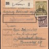 BiZone Paketkarte 1947: Augsburg nach Feilnbach