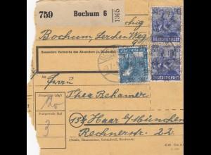 BiZone Paketkarte: Bochum nach Haar