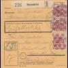 BiZone Paketkarte 1948: Hammerau nach Frauenklinik Haar