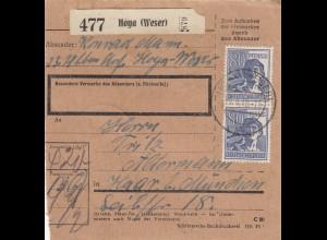 BiZone Paketkarte: Hoya, Weser nach Haar