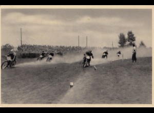 Motorradrennen Pardubice 1935 mit Sonderstempel nach Mähren (Gelände/Enduro...)