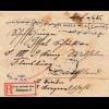 Einschreiben Brief aus Istambul/Türkei nach Flensburg 1917